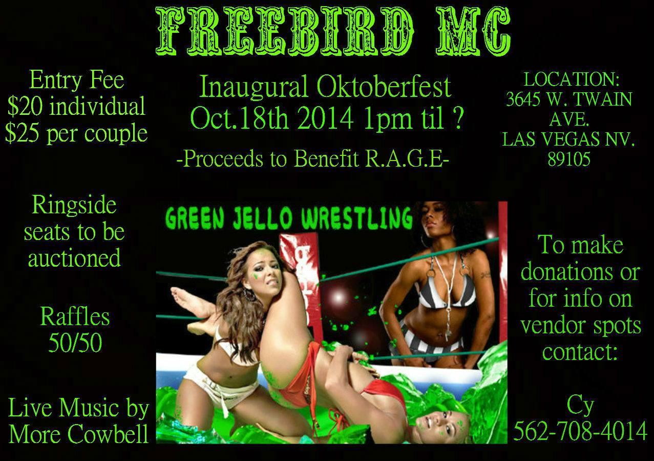 Jello Wrestling in Vegas