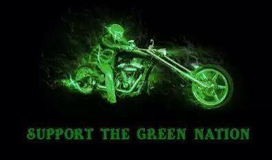support green nation bike